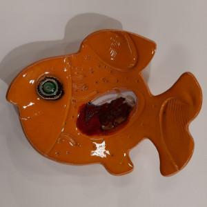 Žuvys padėkliukai dideli geltoni
