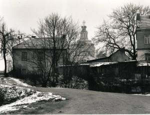 Arūnas Baltėnas / Vilnius. Maironio gatvė/ 1996 / Autorinis sidabro bromido atspaudas / 17,5 x 22