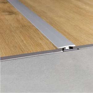 Sujungimo profilis vinilui Rigid NEVREXPSILV, 33x7,5mm, 2 m, Quick Step