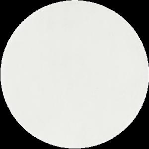 Kilimas Narma Noble baltas / apvalus 200 cm