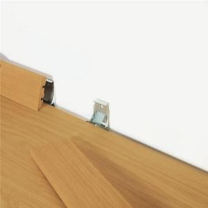 Metalinė tvirtinimo detalė grindjuostei PGSK(-) 58x12, PGCLIPSKME7080, Pergo