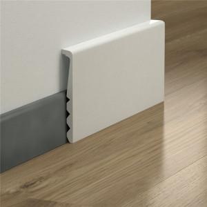 MDF grindjuostė PGISKRCOVER, dažoma, 16x129mm 2,4m, Pergo