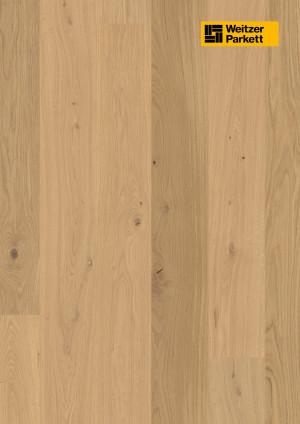 Parketlentės Weitzer parkett, Kaschmir ąžuolas, lively, 64818, 1800x175x11, 1 juostos, Comfort plank kolekcija