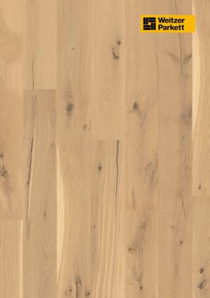 Parketlentės Weitzer parkett, Kaschmir ąžuolas, rustic colourful, 64821, 1800x175x11, 1 juostos, Comfort plank kolekcija