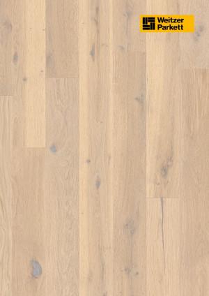 Parketlentės Weitzer parkett, Savanne ąžuolas, rustic colourful, 64745, 1800x175x11, 1 juostos, Comfort plank kolekcija