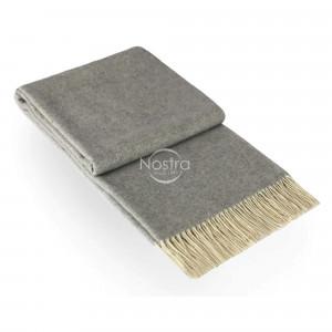 Nostra pledas Andora su kašmyru, Light grey 00-0286, 140x200 cm