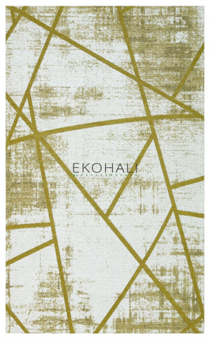 Kilimas Ekohali Palma PM 04 olive 80 x 150 cm