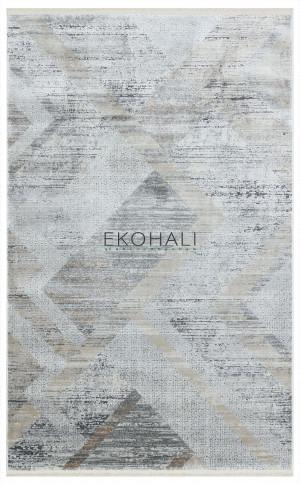 Kilimas Ekohali Sole SE03 kreminė pilka 200x290 cm
