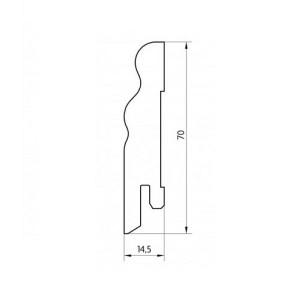 Faneruota grindjuostė, SEG70 2,5m, Pedross