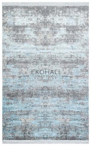 Kilimas Ekohali Sateen ST 01 Aqua 120x180 cm