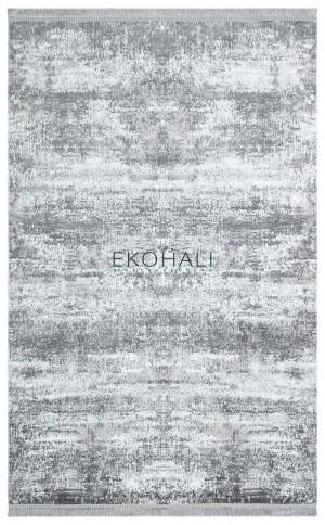 Kilimas Ekohali Sateen ST01 XW pilkas 120x180 cm
