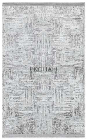 Kilimas Ekohali Sateen ST08 pilka XW 160x230 cm