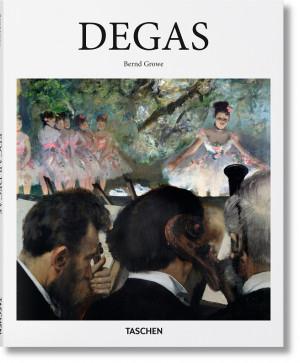 "Bernd Growe / ""Degas"" / / knyga / leidykla ""Taschen"""