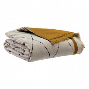 Pledas / lovos užtiesalas Zeff Masai bronze 80x180 cm Vivaraise
