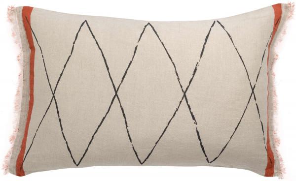 Dekoratyvinė pagalvė Zeff Masai roibos 40x65 cm Vivaraise