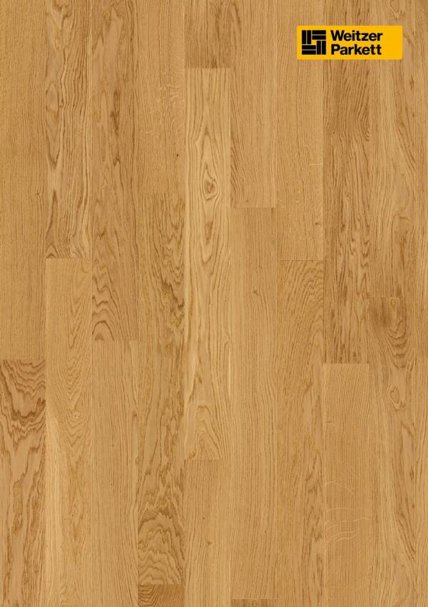 Parketlentė Weitzer parkett, natūralus ąžuolas eglutė 90°, calm, 60972, 1000x125x11, 1 juostos, WP4100 kolekcija