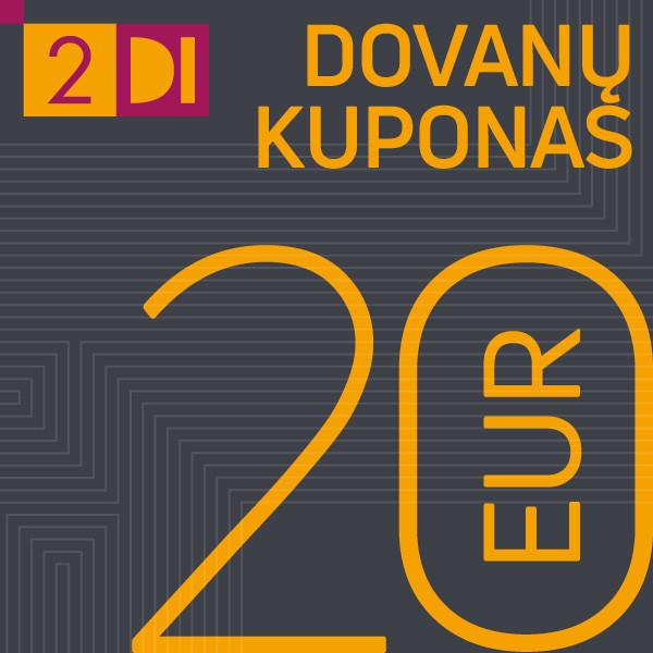 20-ies Eur Dovanų kuponas