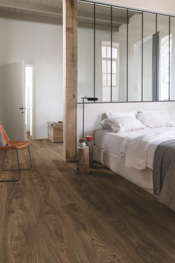 Vinilinės grindys Quick-Step, Cottage ąžuolas tamsiai rudas, BACL40027_1
