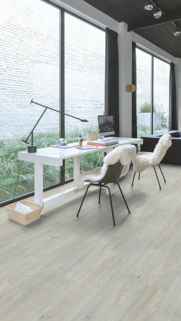 Vinilinės grindys Quick-Step, Silk ąžuolas šviesus, BACL40052