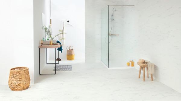 Vinilinės grindys Quick Step, Carrara marmuras baltas, AMCL40136_4
