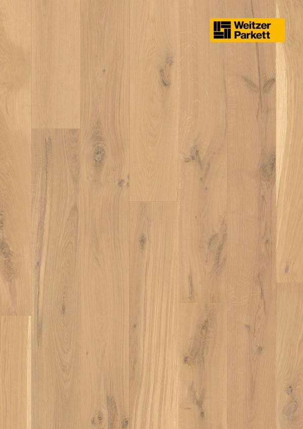 Parketlentės Weitzer parkett, Kaschmir ąžuolas, rustic colourful, 48381, 1800x175x11, 1 juostos, Comfort plank kolekcija