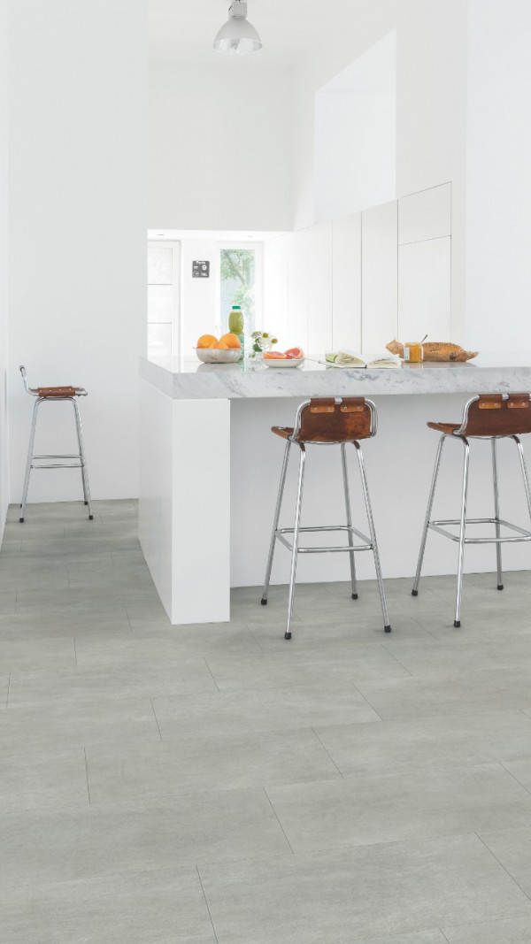 Vinilinės grindys Quick Step, šiltai pilkas betonas, AMCL40050_1