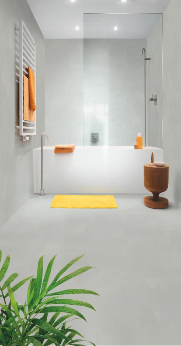 Vinilinės grindys Quick Step, Minimal šviesus pilkas, AMCP40139_1