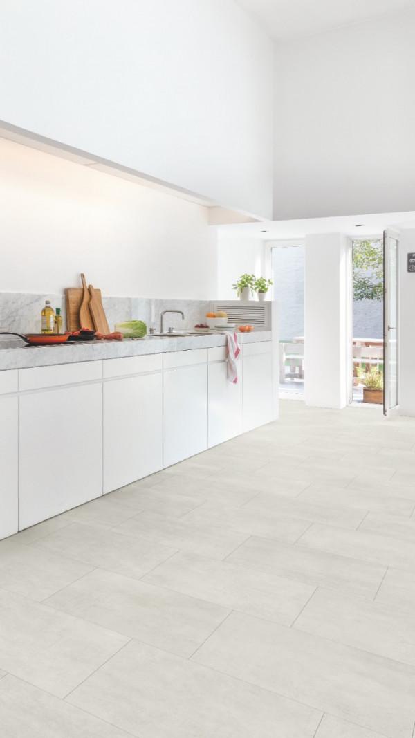 Vinilinės grindys Quick Step, šviesus betonas, AMGP40049_1