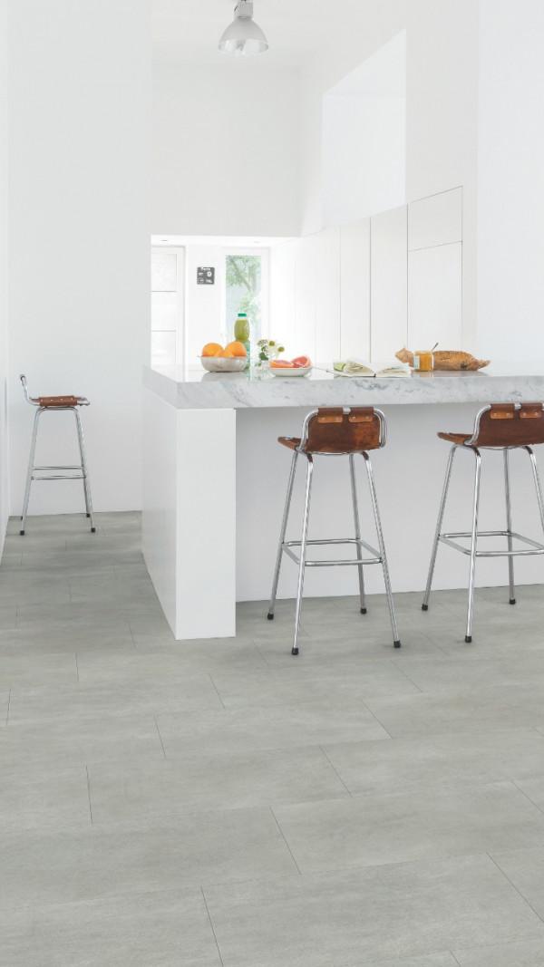 Vinilinės grindys Quick Step, šiltai pilkas betonas, AMGP40050_1