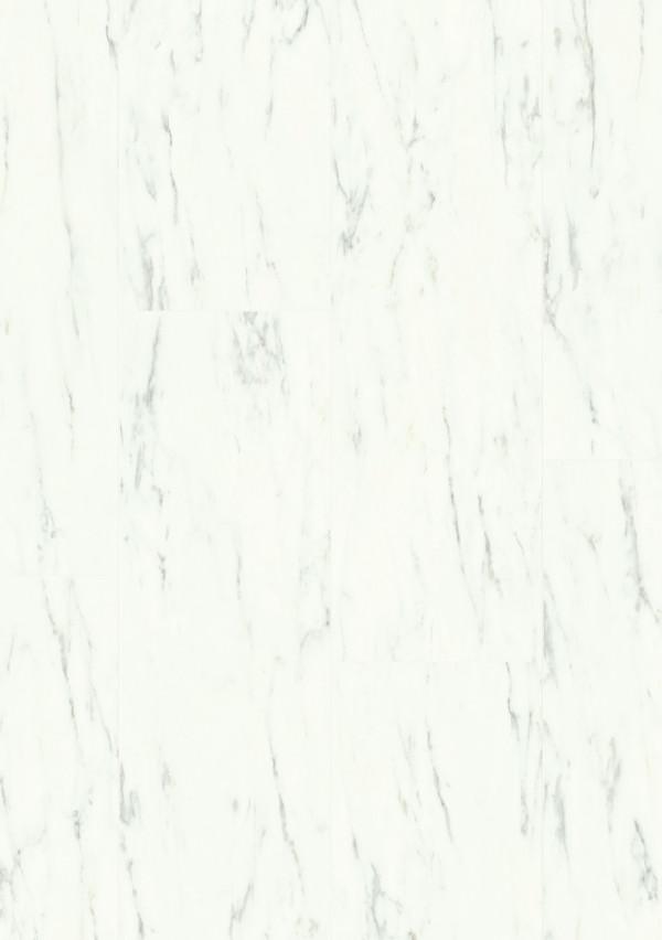 Vinilinės grindys Quick Step, Carrara marmuras baltas, AMGP40136_2