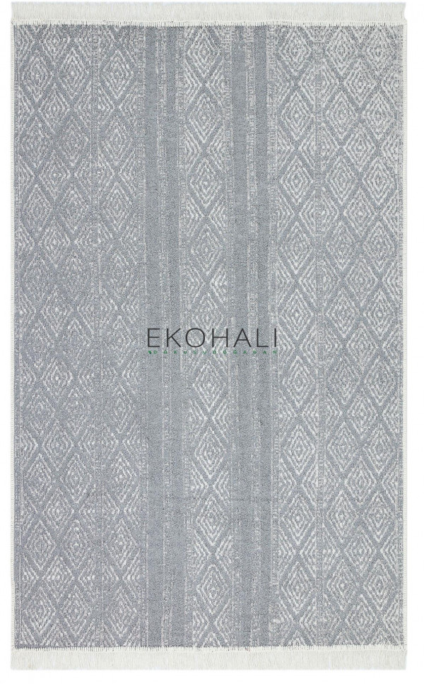Kilimas Ekohali Arya AR01 pilka 120x180 cm