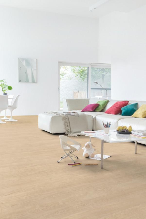 Vinilinės grindys Quick-Step, Ąžuolas rinktinis šviesus, BACL40032_1