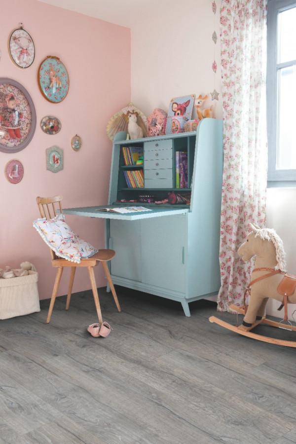 Vinilinės grindys Quick-Step, History ąžuolas pilkas, BACL40037_1