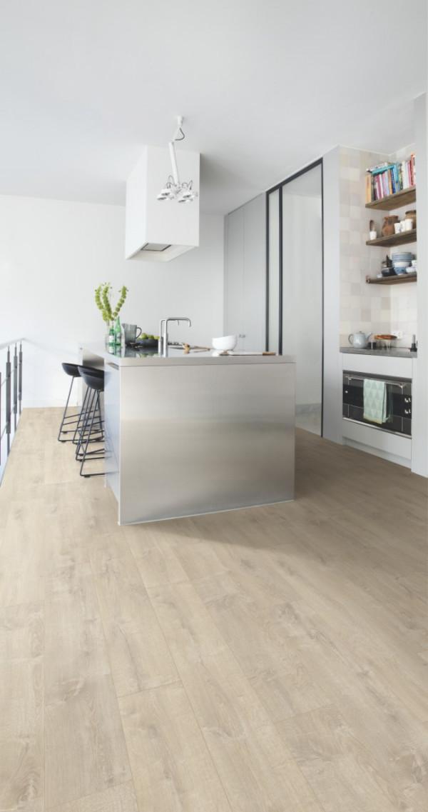 Vinilinės grindys Quick-Step, Velvet Oak smėlio spalvos, BACL40158_1
