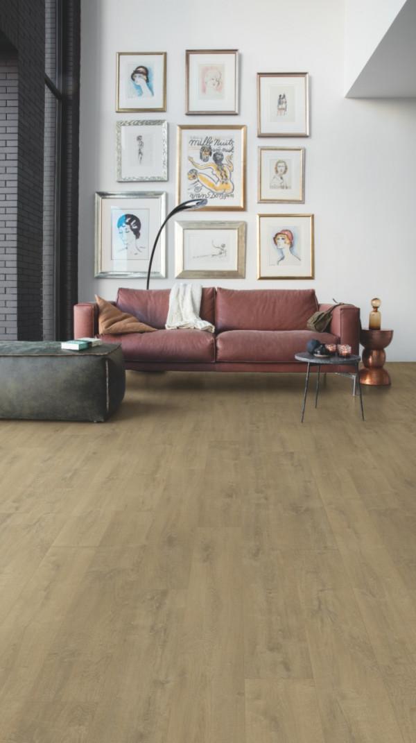 Vinilinės grindys Quick-Step, Velvet ąžuolas sand, BACL40159_1