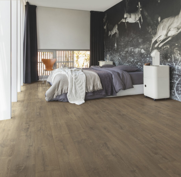 Vinilinės grindys Quick-Step, Velvet Ąžuolas rudas, BACL40160_1