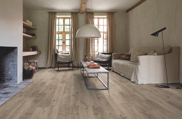 Vinilinės grindys Quick-Step, Cottage ąžuolas rudai pilkas, BACP40026_1