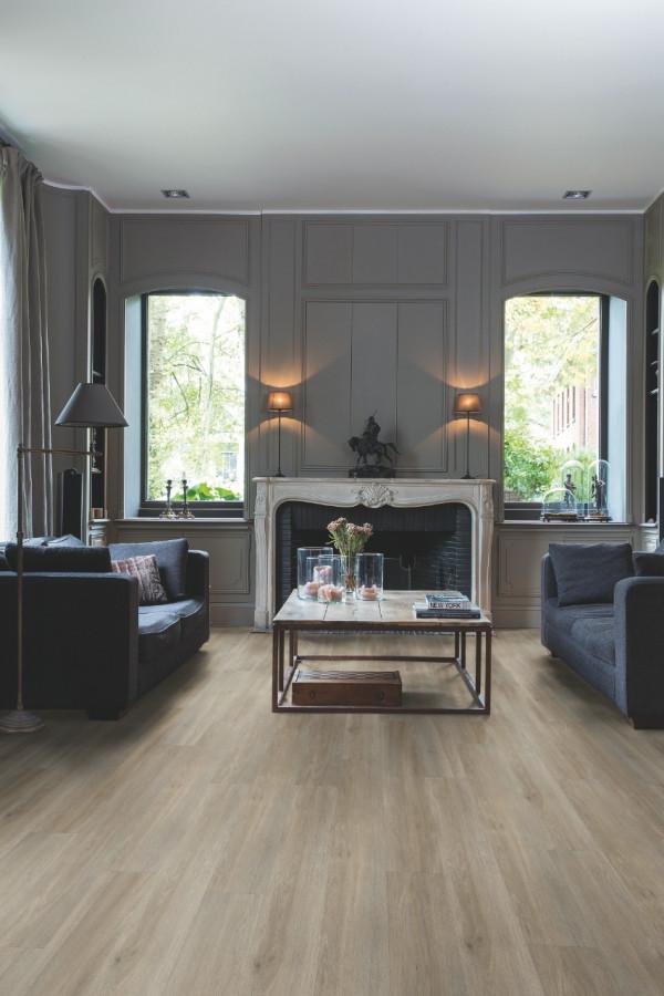Vinilinės grindys Quick-Step, Silk ąžuolas pilkai rudas, BAGP40053_1