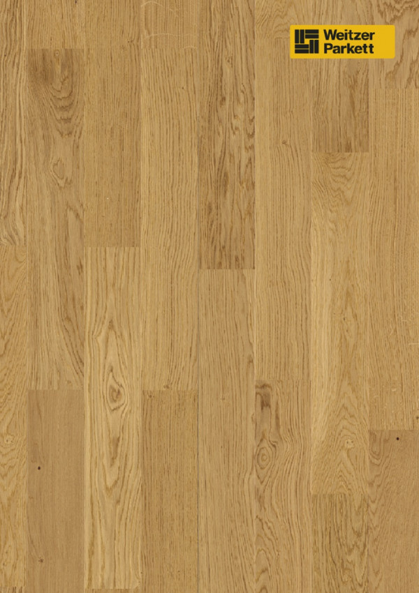 Parketlentė Weitzer parkett, natūralus ąžuolas eglutė 90°, 63655, calm, 1 juostos, WP475 kolekcija