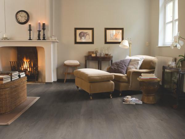 Laminuotos grindys Quick-Step, pilkas senovinis ąžuolas, CLM1382H_1