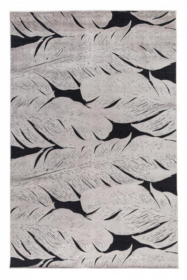 Kilimas Vallila Sulka black clay 160x230 cm