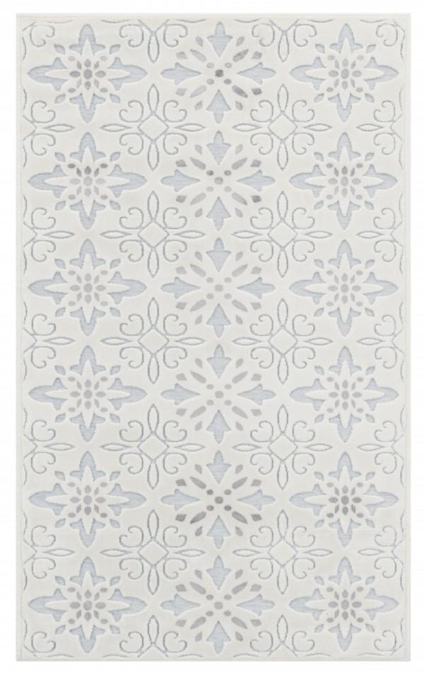 Kilimas Vallila Polkka silver 67x110 cm