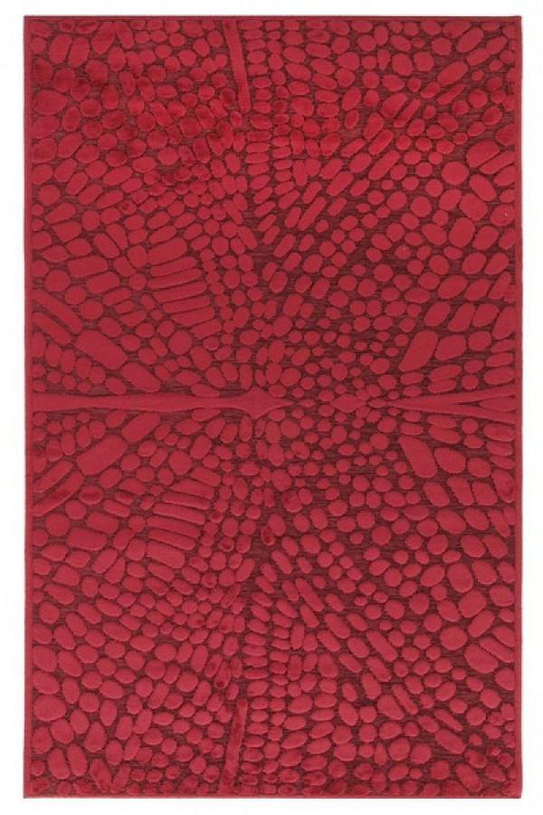 Kilimas Vallila Perhonen red 140x200 cm