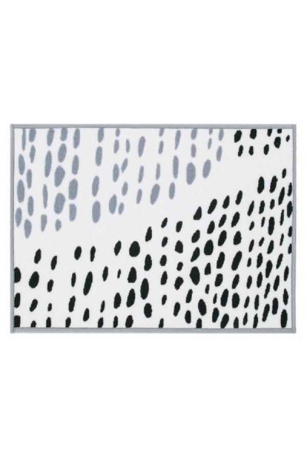 Kilimas Vallila Sade black white 50x80 cm