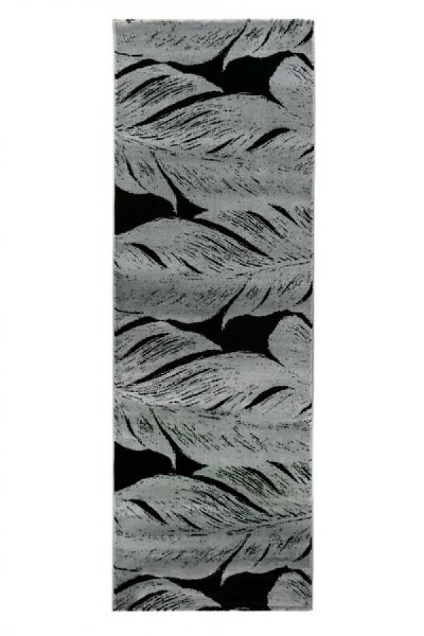 Kilimas Vallila Sulka black 80x200 cm