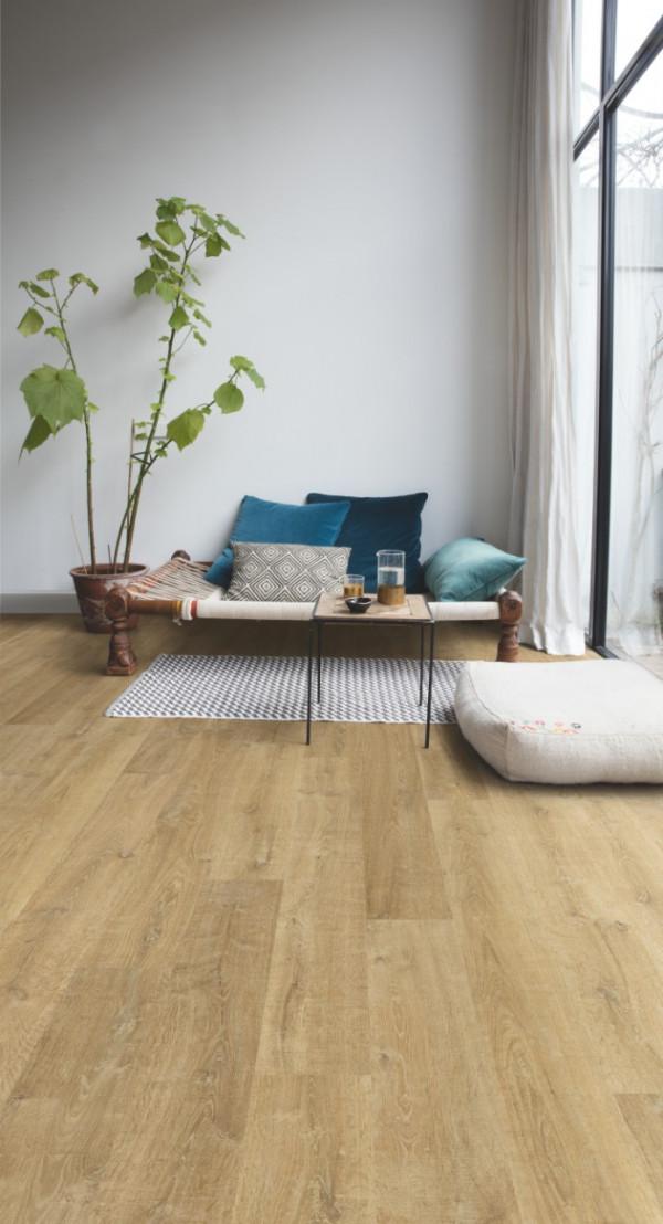 """Laminuotos grindys Quick-Step, Natūralus """"Riva"""" ąžuolas, EL3578, 1380x156x8mm, 32 klasė, Eligna HydroSeal kolekcija"""