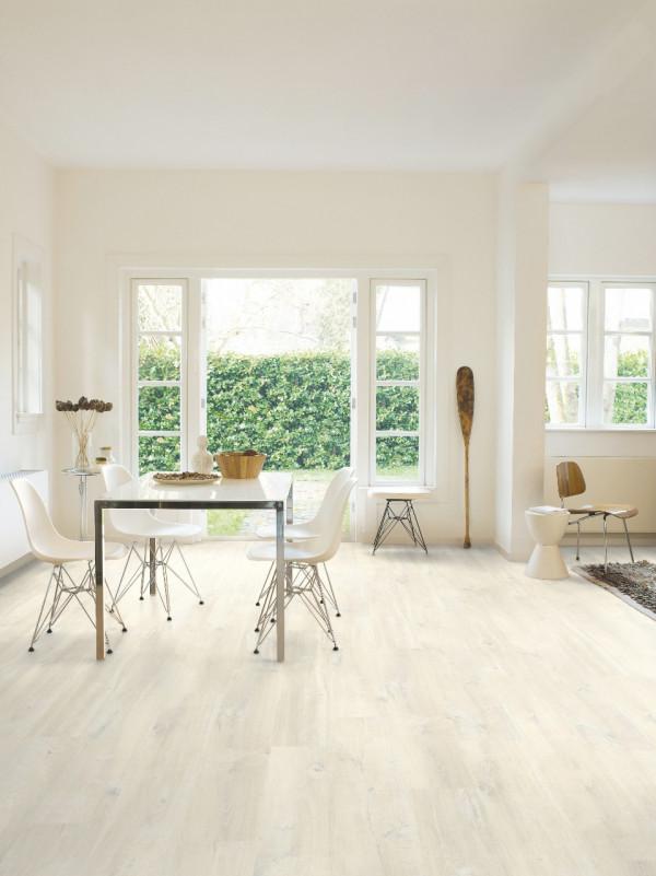 Laminuotos grindys Quick-Step, ąžuolas baltas Charlotte, CR3178_1