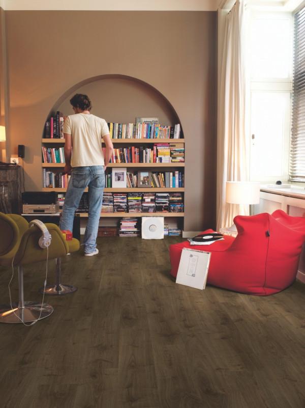 Laminuotos grindys Quick-Step, ąžuolas rudas Virginia, CR3183_1