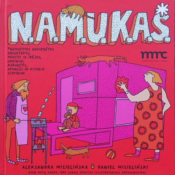 """Aleksandra Mizielińska / """"N.A.M.U.K.A.S."""" / 2012 / knyga / Modernaus meno centras"""