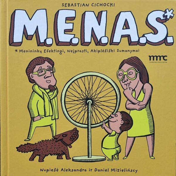"Sebastian Cichocki / ""M.E.N.A.S."" / 2013 / knyga / Modernaus meno centras"
